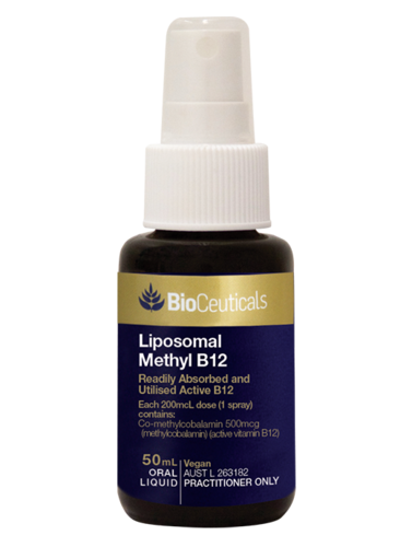 Bioceuticals Liposomal Methyl B12 50ml