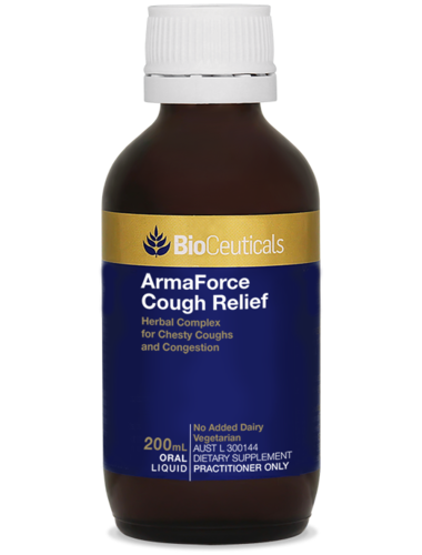 BioCeut. ArmaForce Cough Relief