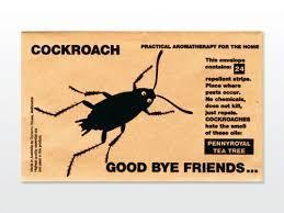 Good bye Friends Insect Repellant For Coakroach