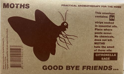 Good bye Friends Insect Repellant For Moths