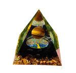 Black Tourmaline Pyramid 60mm